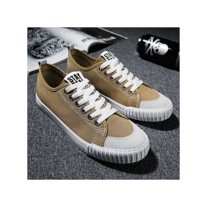 Fashion Casual Canvas Sneakers Shoes For  s-Khaki prix à prix s-Khaki pas cher  | Black Friday 2018 | Jumia Maroc 53796c