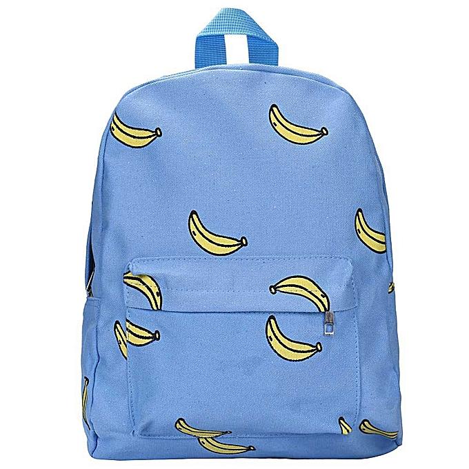 mode Tcetoctre toile sac à dos sac à dos School Book BU-bleu à prix pas cher