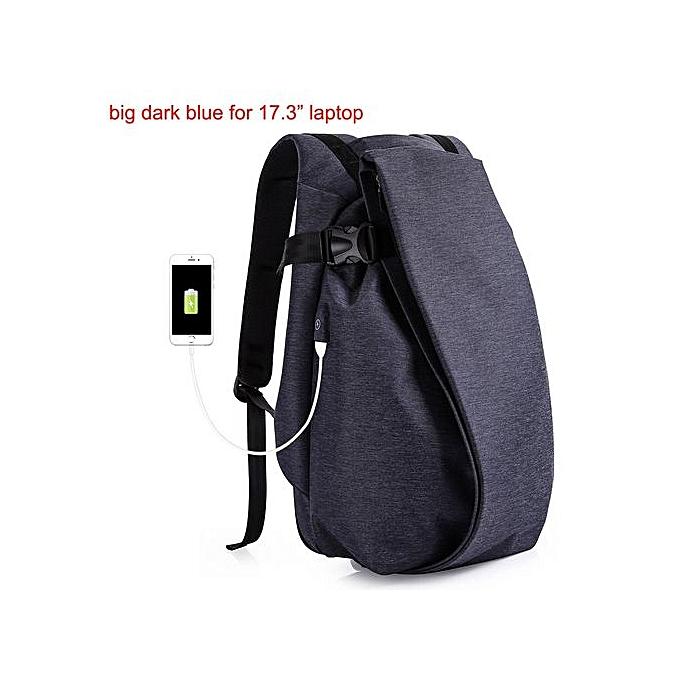 Generic Hommes voyage Laptop sac à dos Computer imperméable mode à prix pas cher