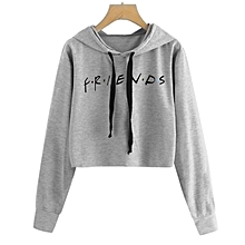 2ff189620c6 Fashion Women  039 s Short sweats à capuche pull à capuche à manches longues