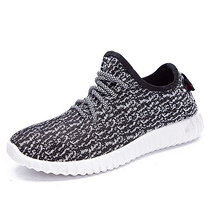 Fashion Casual breathable mesh chaussures hommes sports running chaussures gris à prix pas cher    Jumia Maroc