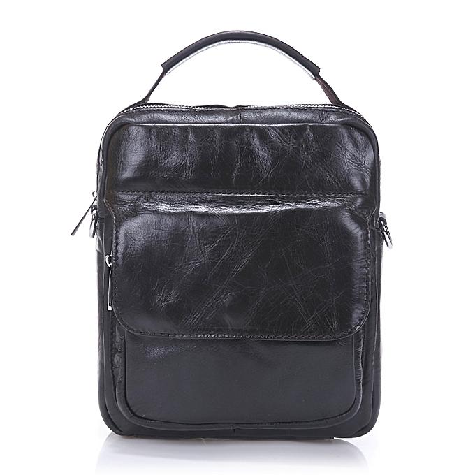 mode Xiuxingzi_mode Décontracté Genuine cuir sac Messenger sac Hommes Shoulder sac BK à prix pas cher