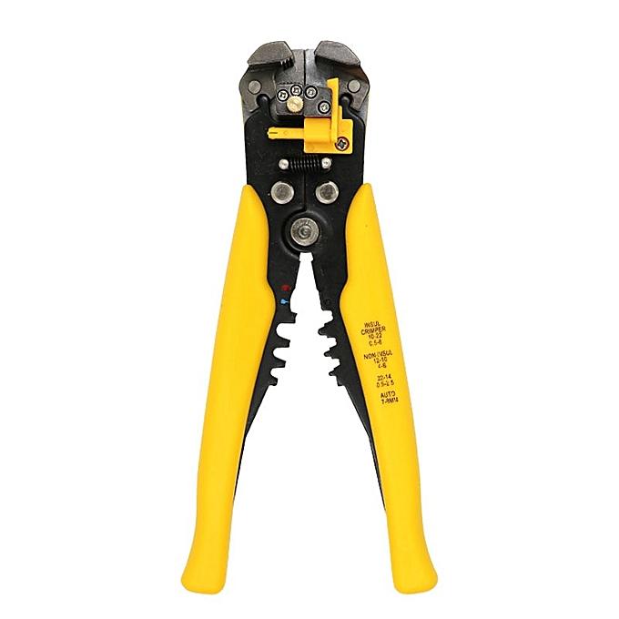 Autre 0.2-0.6mm wire stripper pliers Decrustation alicates cutters cable tools cuter herramienta cable toolcutter cutting plier(only jaune Pliers) à prix pas cher