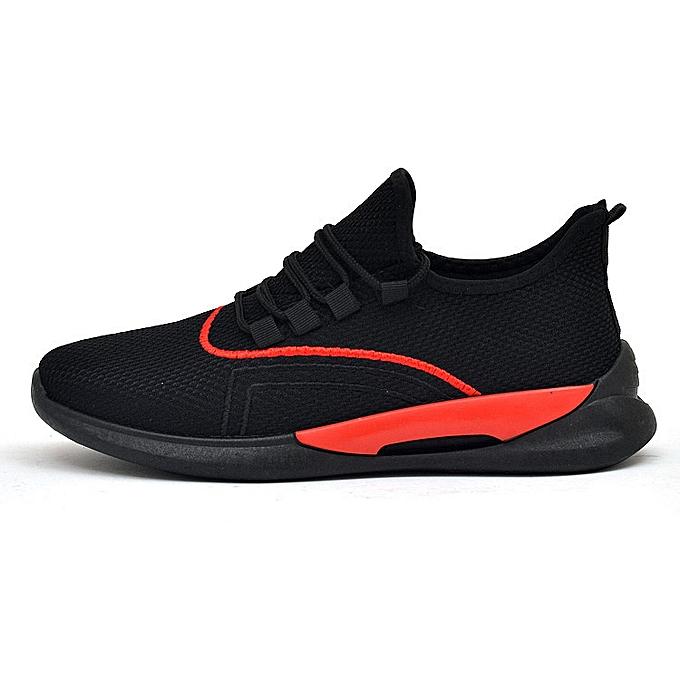 Fashion Running chaussures, baskets, comfortable fitness chaussures noir rouge à prix pas cher    Jumia Maroc