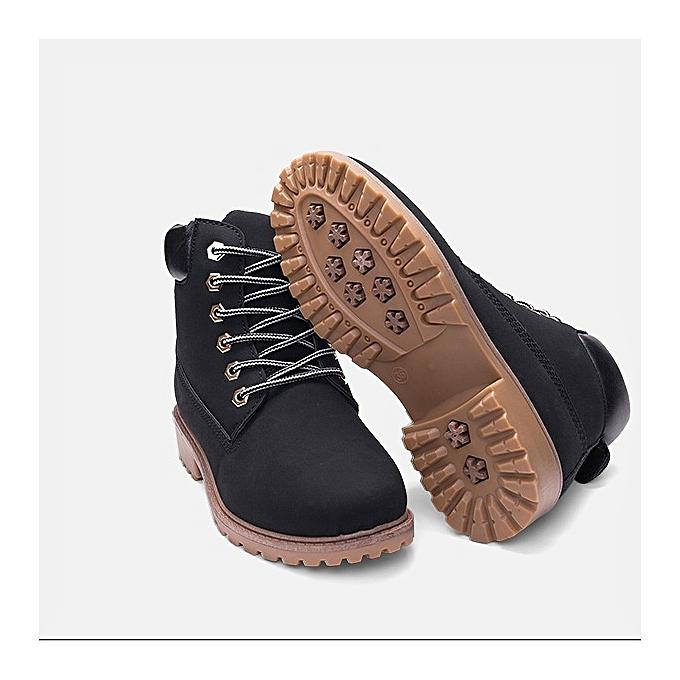 Other New Stylish Large Taille Wohommes Autumn Winter Martin bottes à prix pas cher    Jumia Maroc