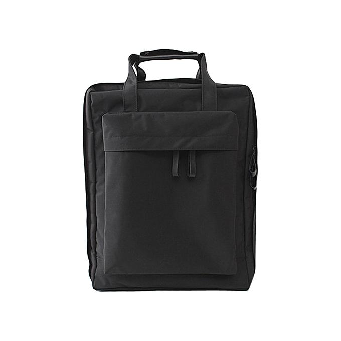 Generic Tcetoctre nouveau Style Excursions sac à dos de plein air imperméable grand capacité Folding sacs BK-noir à prix pas cher