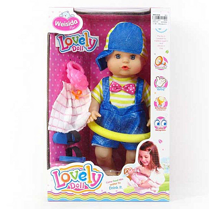 Autre Poupée Pee Drinking UR 12 pouces avec des poupées de mode Ic pour des cadeaux d'anniversaire à prix pas cher