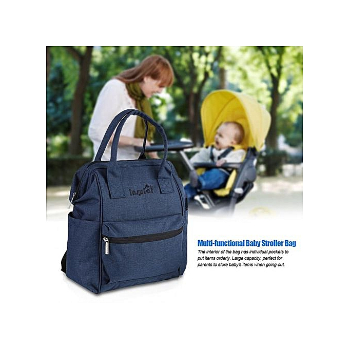Other Insular Multi-functional   Stroller sac Diaper Storage sac à dos For Mummy Mother (bleu) à prix pas cher