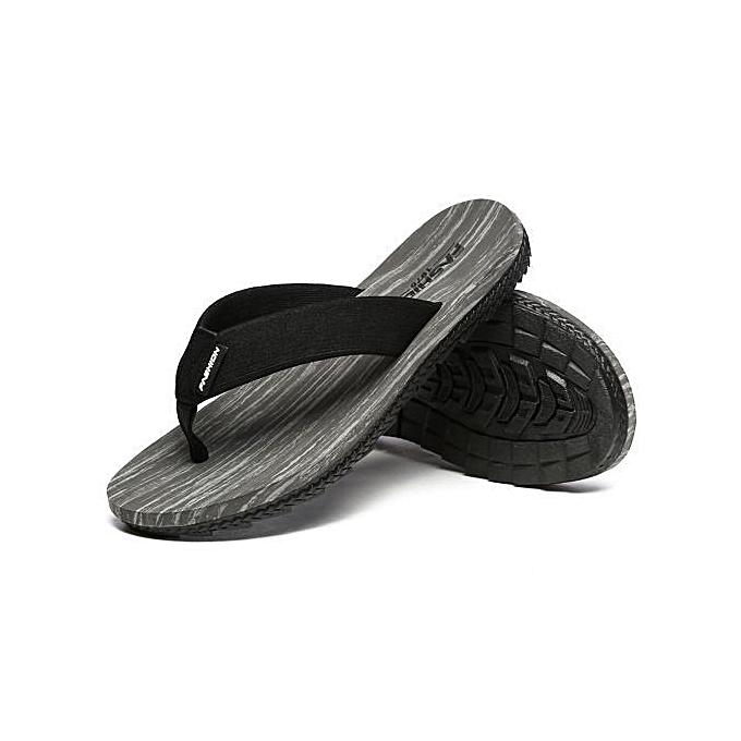 OEM Super Large Taille Summer Men's Flip Flops EVA Soft Indoor Room Sandy Beach Slippers-gris à prix pas cher    Jumia Maroc