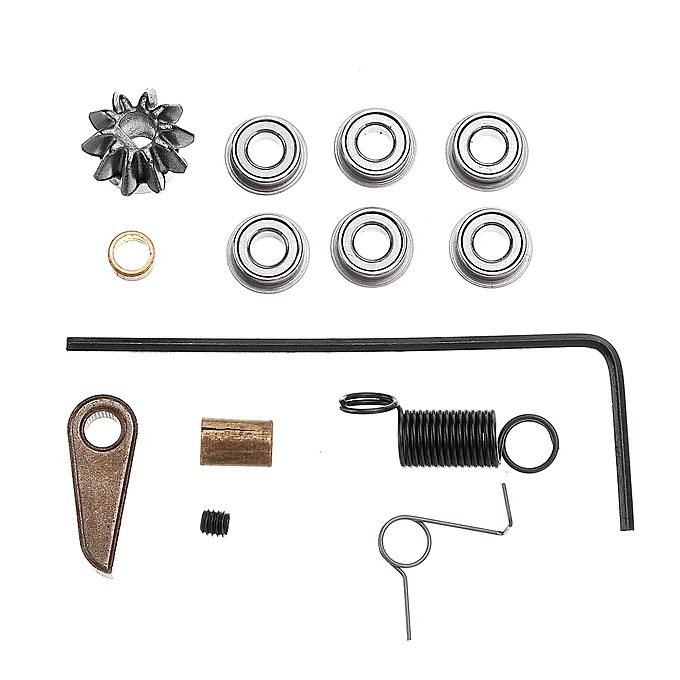 OEM Metal Patter 7mm Bearing Cylinder Gearbox Kit For Nwell Gel Ball Blaster à prix pas cher