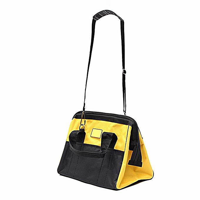 UNIVERSAL M Nylon Canvas Portable Heavy Duty Tool Bag Contractor Storage Hardware Case à prix pas cher