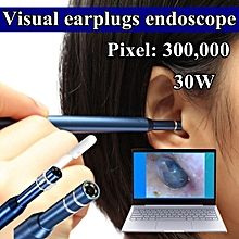 4fab2c321df50b 3 in 1 USB Ear Cleaning Endoscope Mini Camera HD LED Scope Earwax Removal  Kit
