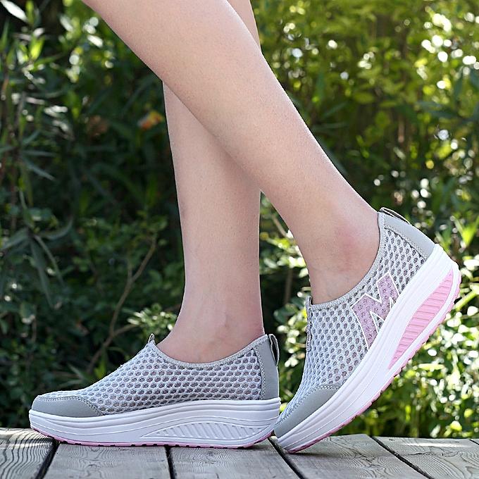 Fashion Breathable femmes chaussures casual sports wedge à prix pas cher    Jumia Maroc