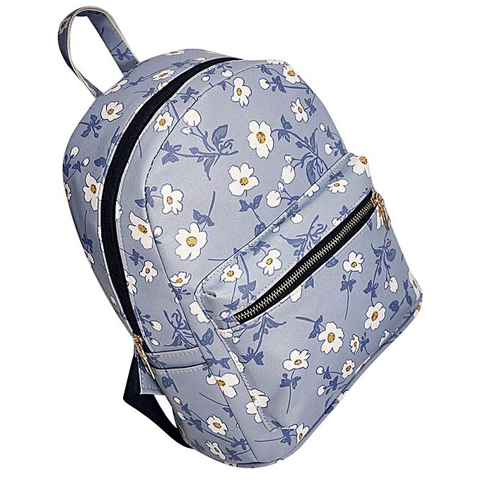 Fashion Bag Accessory  New Arrival Wohommes Leather Floral Printed School Bag Travel Backpack Bag Master Designer Dropship  à prix pas cher