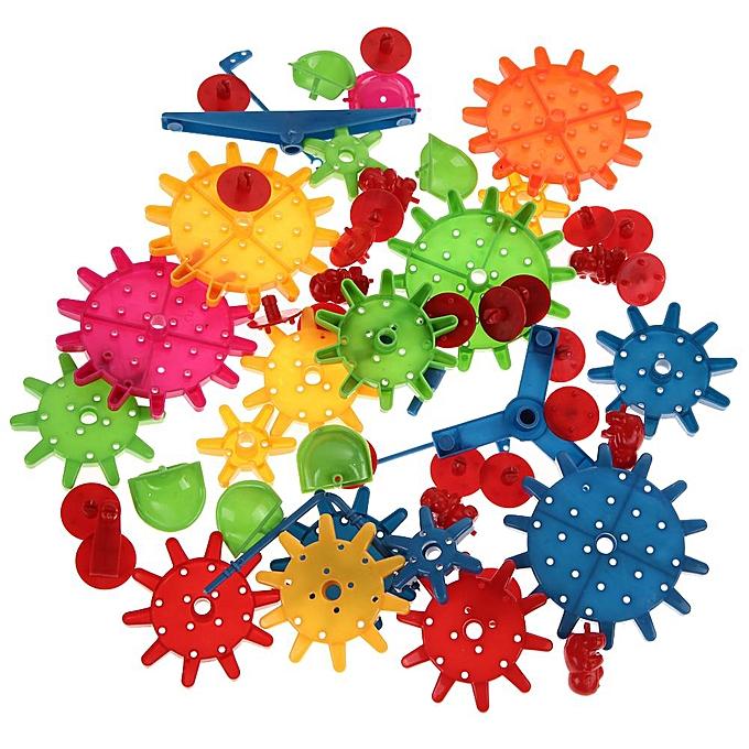 Autre 81pcs enfants en plastique blocs de construction puzzle jouets enfants jouet éducatif à prix pas cher