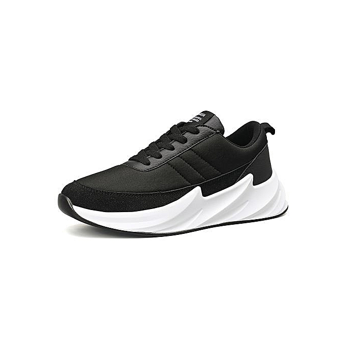 Fashion Mens baskets Fashion Athletic Footwear Casual chaussures noir à prix pas cher