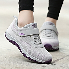 a90897f2d4657 Women Breathable Casual Shoes Sneakers-Grey