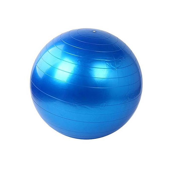 Generic 55cm Exercise Fitness GYM Smooth Yoga Ball BU à prix pas cher