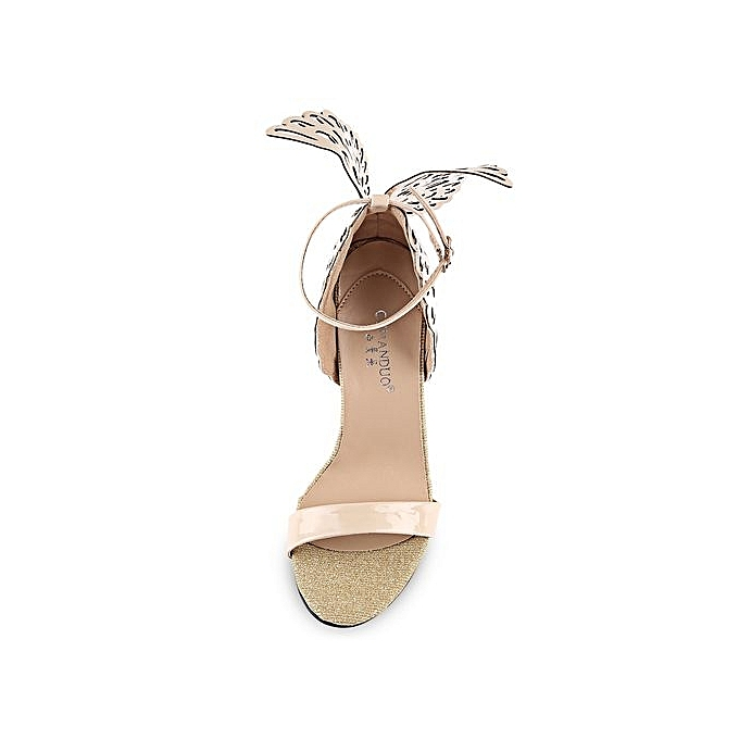 GUMANDUO GUMANDUO Sexy Butterfly Butterfly Sexy Wings EmbellishHommes t Ankle Strap   Thin High Heel Sandals à prix pas cher  | Jumia Maroc af3d00