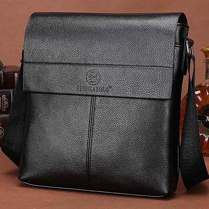Other FEIDIKABOLO New Collection Fashion Men Bags Male Leather Messenger Bags Man Travel Business Crossbody Shoulder Bag Men's Handbag(noir) à prix pas cher