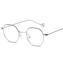 5f898eed4a Octagonal Vintage Metal Frame Non-prescription Clear Lens Eyeglasses