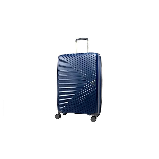 JIZO Valise TRANSCEND bleu Medium à prix pas cher