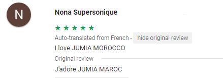Jumia app maroc