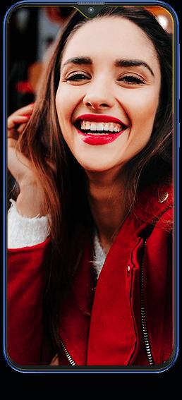 Bouton flash de l'écran - Samsung Galaxy M20