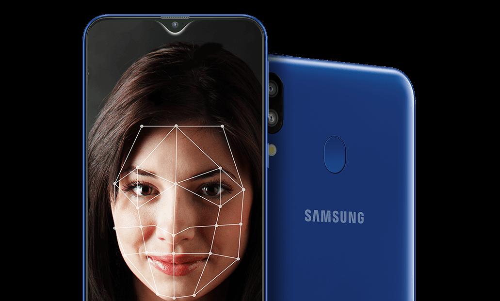 Déverrouillage rapide par reconnaissance faciale - Samsung Galaxy M20