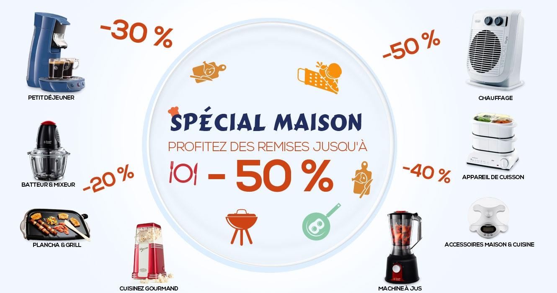 Speciale promo cuisine et maison sur jumia maroc