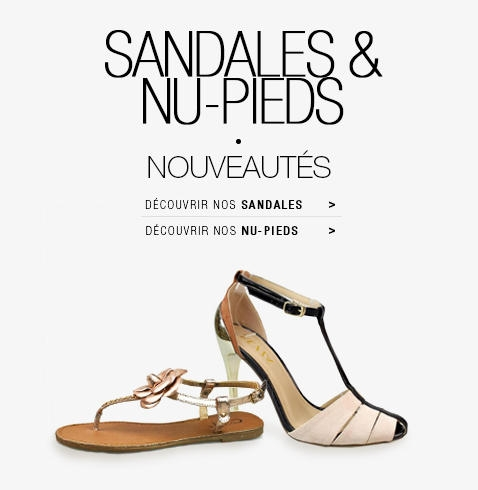 Achetez vos sandales & nu-pieds au meilleur prix sur jumia Maroc