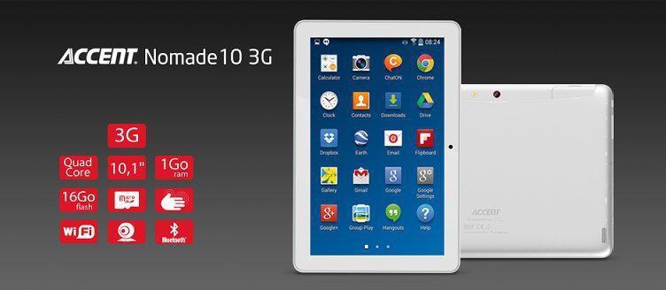 Achetez la tablette Accent Nomade sur Jumia Maroc