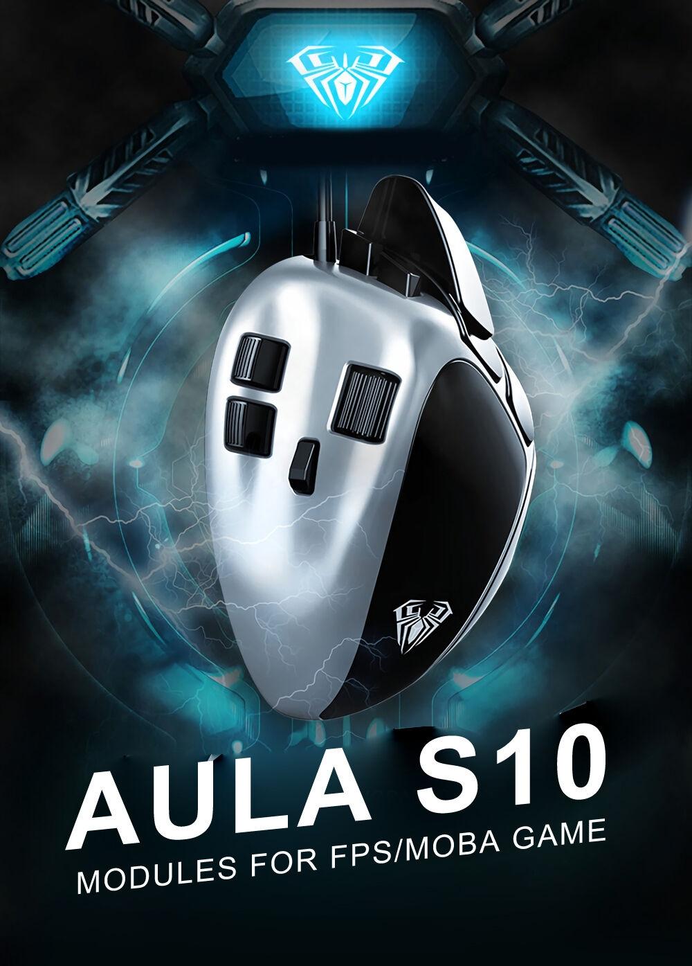 AULA-S10-4000DPI-Module-Réglable-Structure-Optique-Gaming-Souris-pour-FPSMOBA-Jeu-1373772