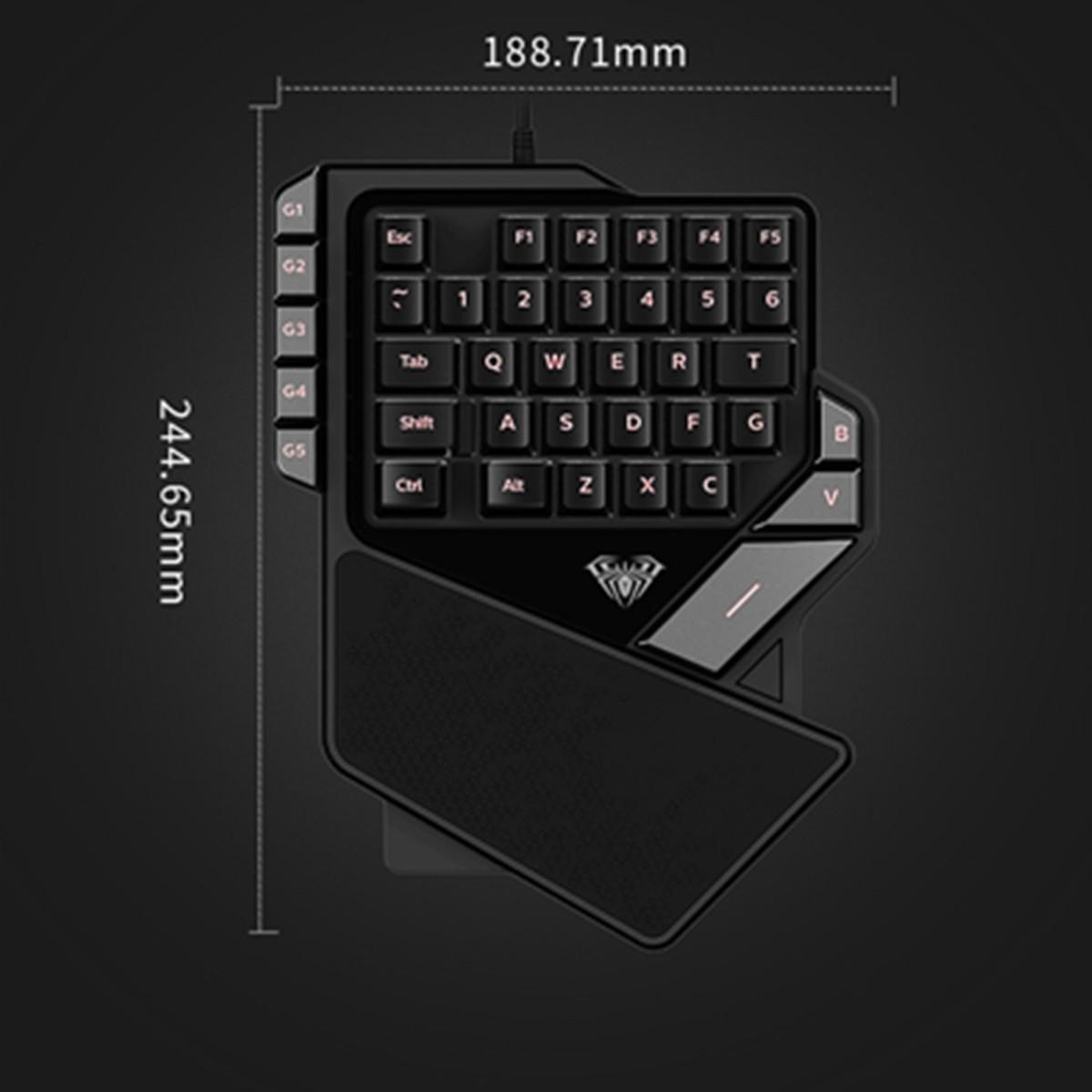 AULA-K2-38Keys-USB-Gaming-Keypad-Mini-LED-Backlit-Ergonomic-Single-Hand-Keyboard-1372379