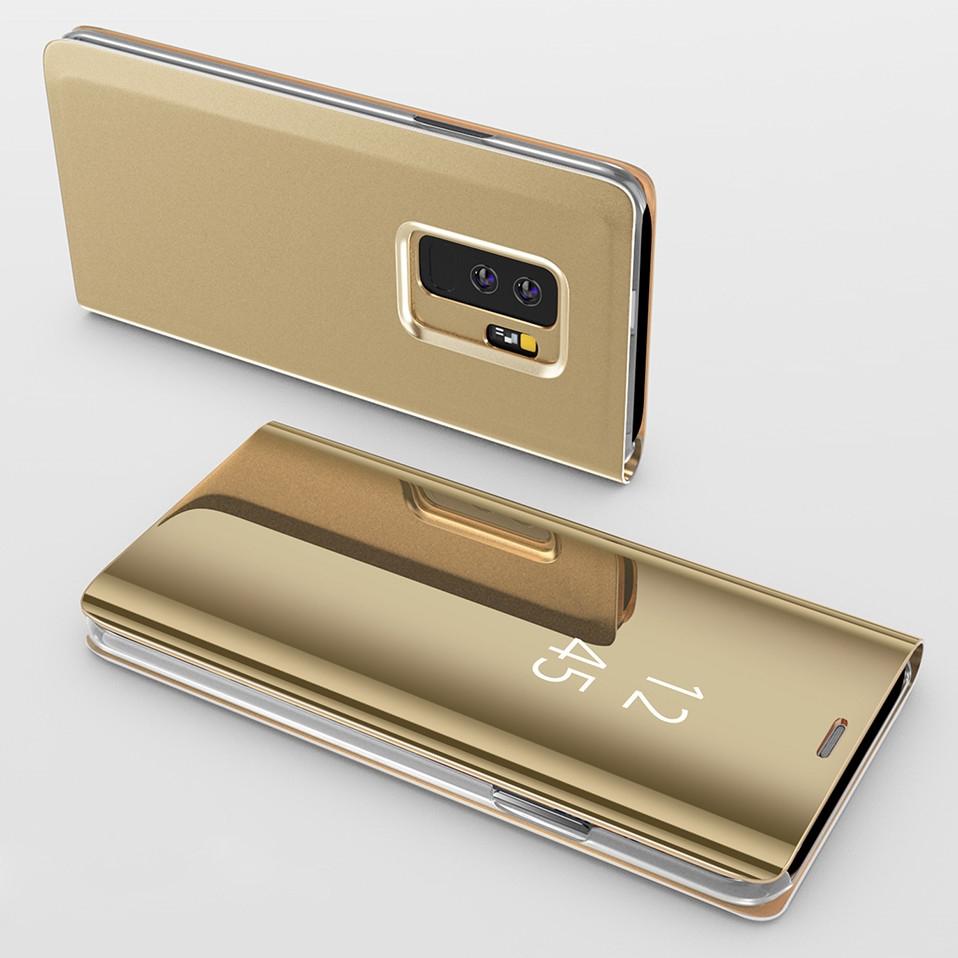 Mirror Flip Case For Samsung s8 s9 plus 10