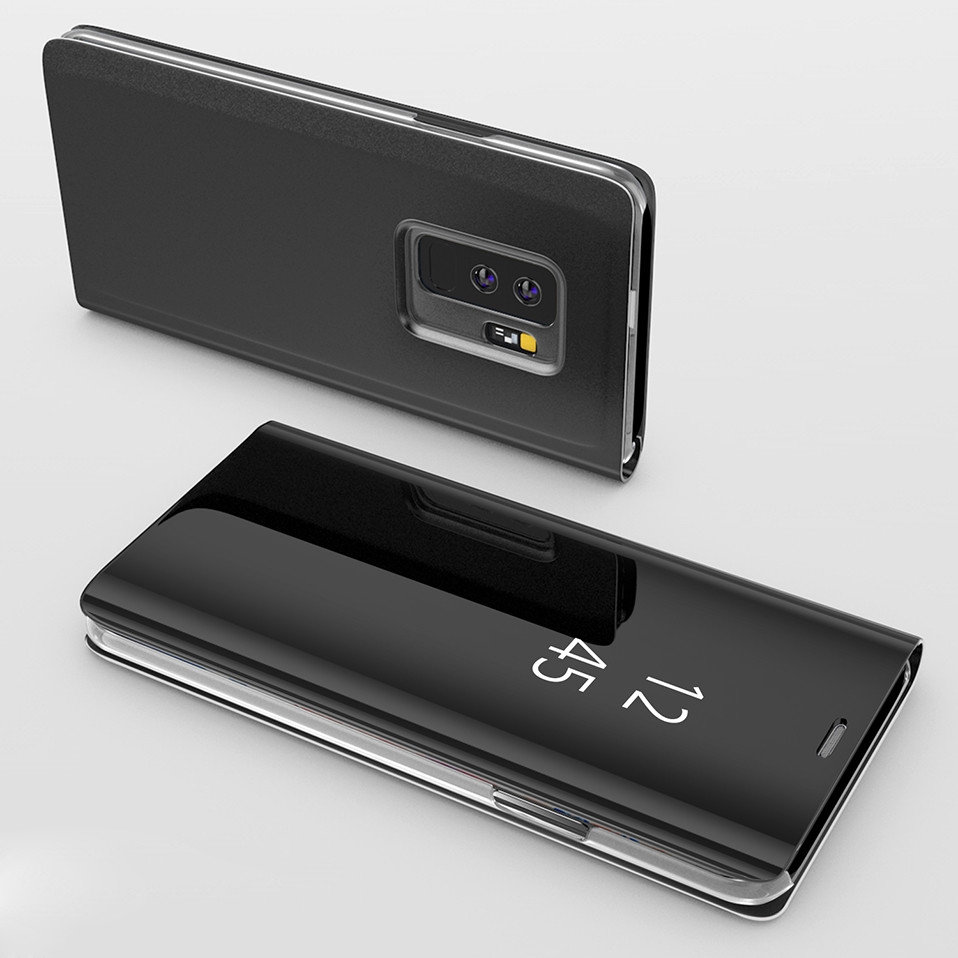 Mirror Flip Case For Samsung s8 s9 plus 12