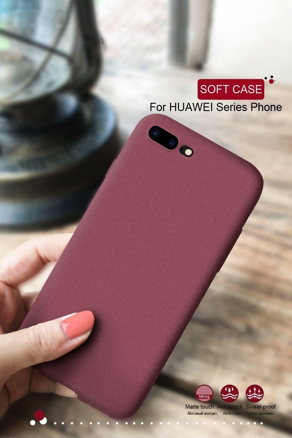 Silicone Soft TPU Matte Case for Huawei P20 P10 Lite P20 Pro P10 P9 P8 Lite 2017 P Smart Nova 2 Plus 2i 2s Case Cover Phone Bag (7)