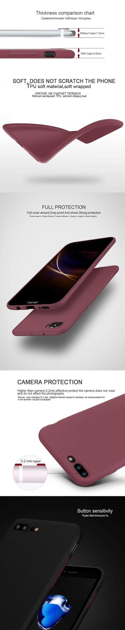 Silicone Soft TPU Matte Case for Huawei P20 P10 Lite P20 Pro P10 P9 P8 Lite 2017 P Smart Nova 2 Plus 2i 2s Case Cover Phone Bag (13)