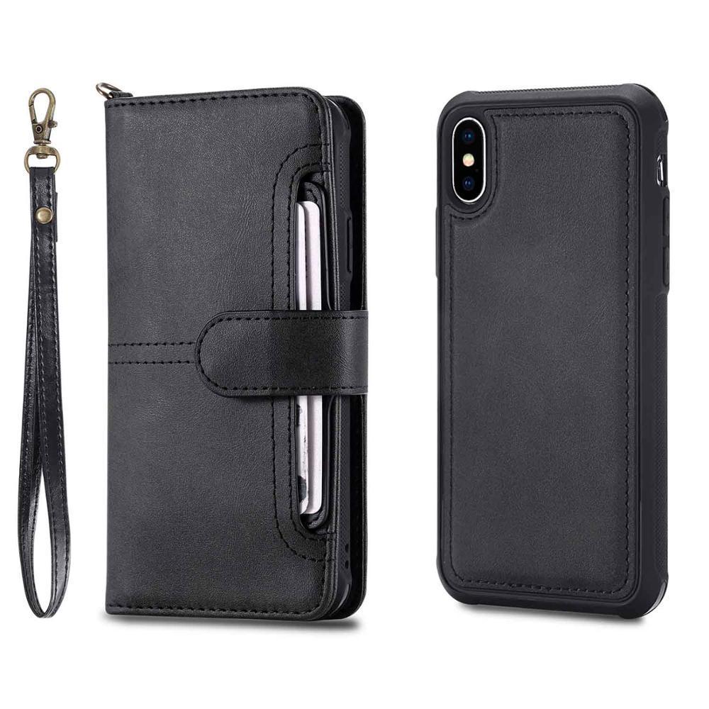 iphone x leather case black 20180621