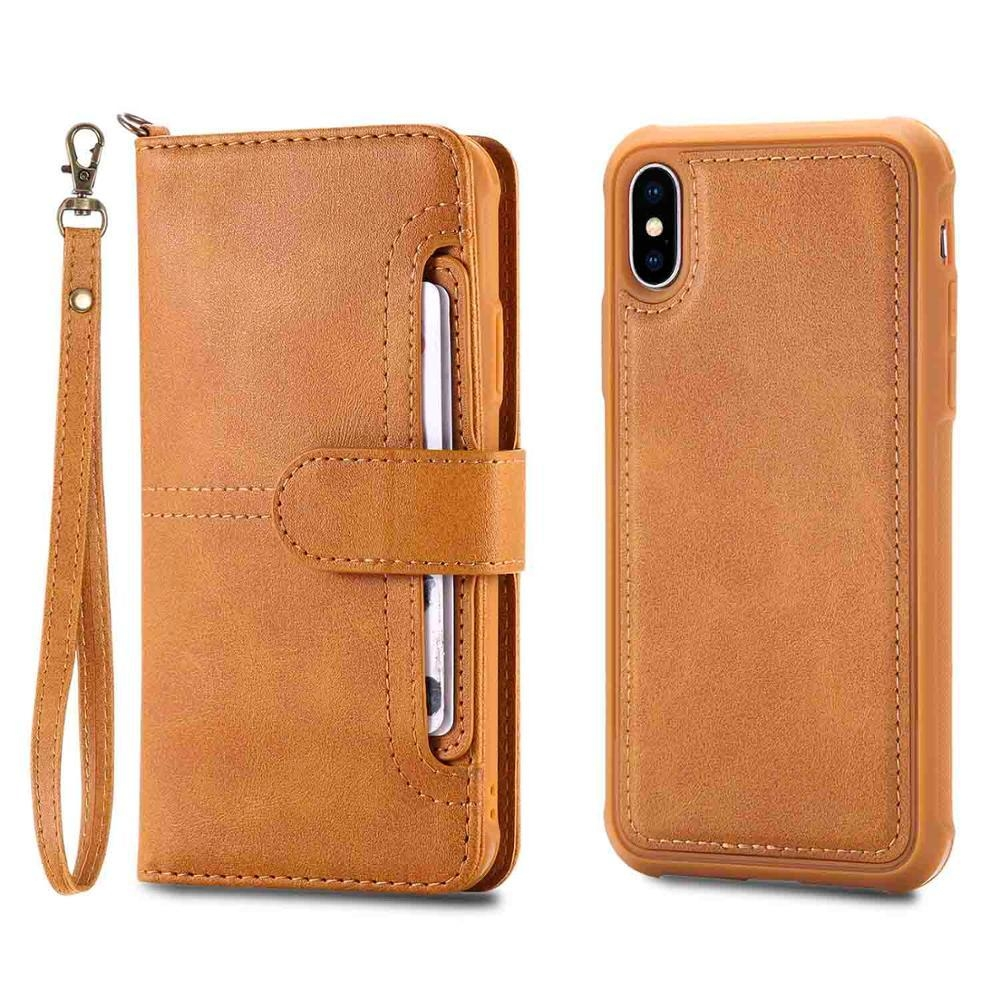 iphone x leather case yellow 20180621
