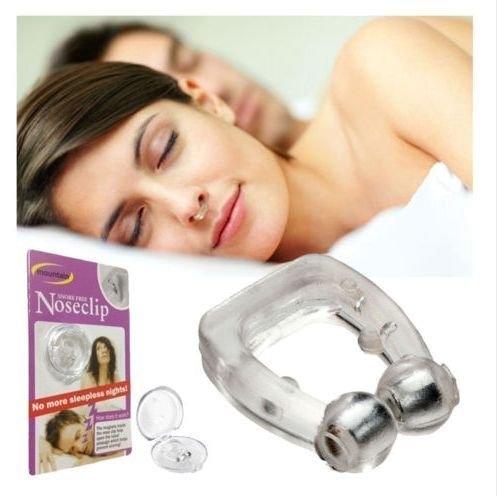 Clips de nez anti-ronflement - Respirez plus facilement - Voyage gratuit Cas de sommeil calme - Meilleure alternative à d'autres dispositifs anti-ronflement - Profitez de nuits paisibles