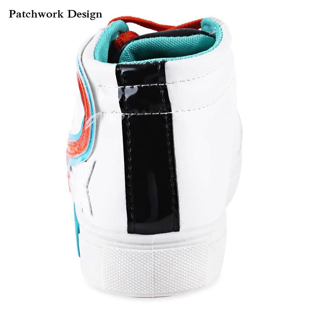 Casual Stars Decoration Patchwork High-top Shoes for Women