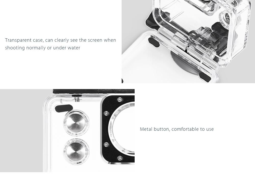 SJCAM 30m Waterproof Housing Kit for SJ7 Star Camera