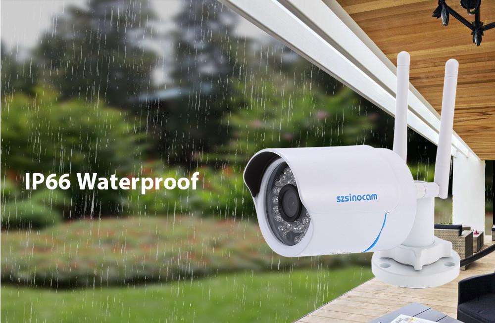 Szsinocam SZ - IPC - 7024SW1.0MP WiFi IP Camera Security System 720P Motion Detection Waterproof