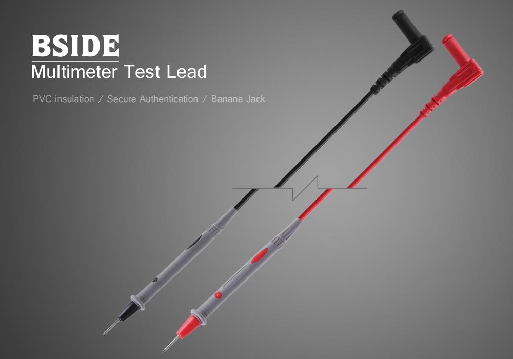 BSIDE T1001 Universal 1000V 10A Digital Multimeter Ultra-sharp Test Lead Kit