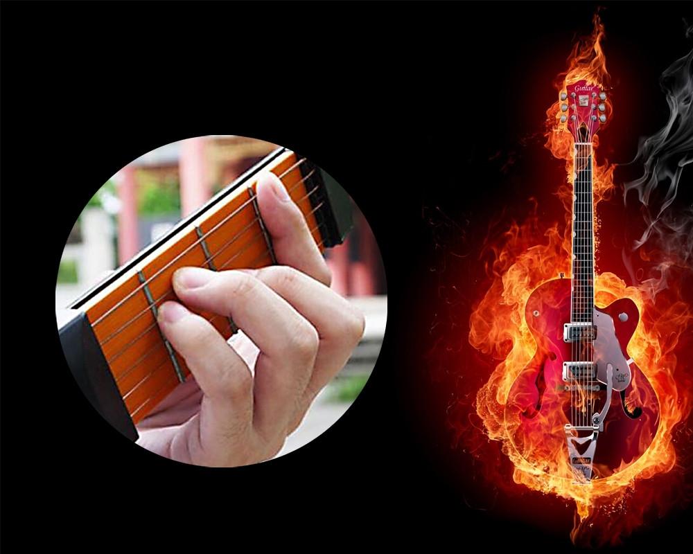 Portable Pocket Guitar Practice Tool Finger Training Device for Beginner