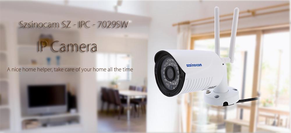 Szsinocam SZ - IPC - 7029SW1.0MP WiFi IP Camera Security System 720P Motion Detection Waterproof