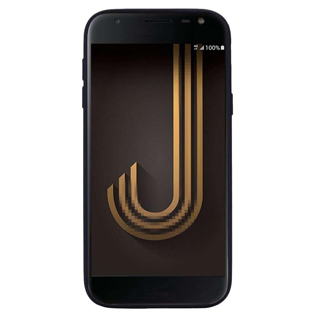 Case For Samsung Galaxy J7 2017 J730 Eurasian Red Eye TPU Phone Protection Sleeve- Black