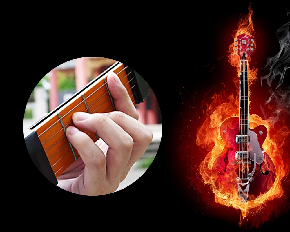 Portable Pocket Guitar Practice Tool Finger Training Device for Beginner