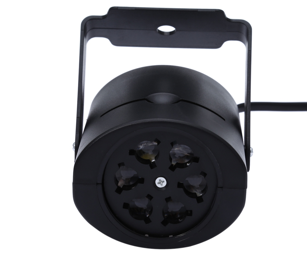 LED Stage Light Multicolor Magic Ball Disco DJ Projection Lamp with 4PCS Switchable Pattern Lens